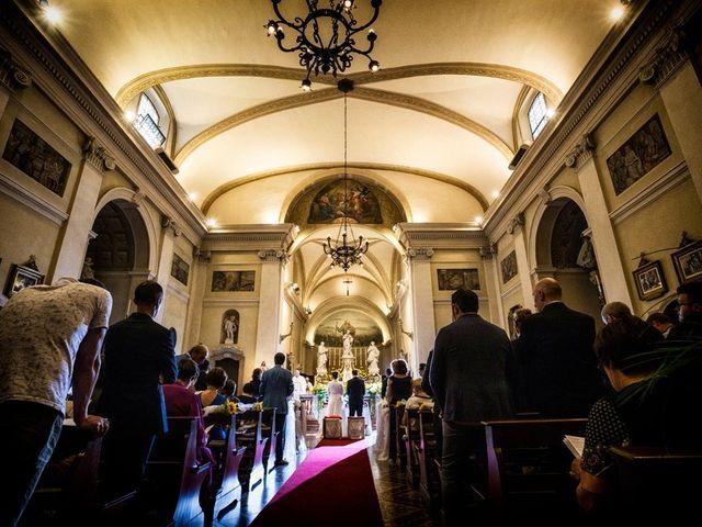 Il matrimonio di Renzo e Elisabetta a Valeggio sul Mincio, Verona 32