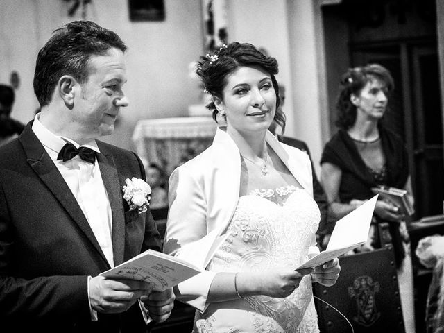 Il matrimonio di Renzo e Elisabetta a Valeggio sul Mincio, Verona 34