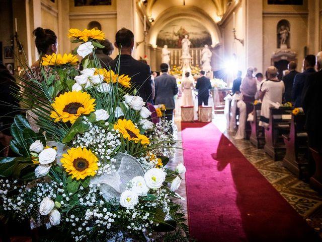 Il matrimonio di Renzo e Elisabetta a Valeggio sul Mincio, Verona 39