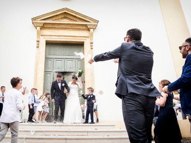 Il matrimonio di Renzo e Elisabetta a Valeggio sul Mincio, Verona 46