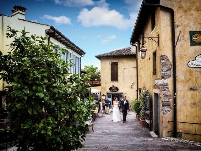 Il matrimonio di Renzo e Elisabetta a Valeggio sul Mincio, Verona 50