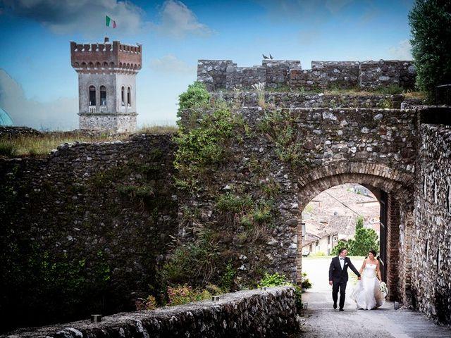 Il matrimonio di Renzo e Elisabetta a Valeggio sul Mincio, Verona 55