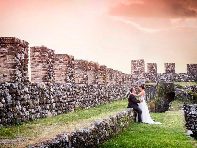 Il matrimonio di Renzo e Elisabetta a Valeggio sul Mincio, Verona 62