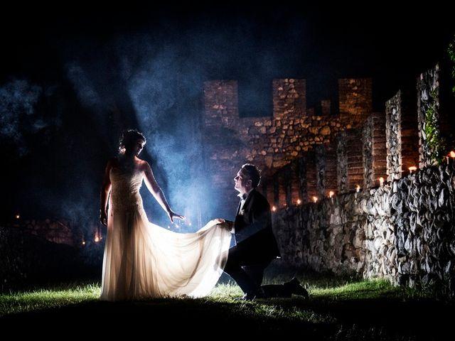 Il matrimonio di Renzo e Elisabetta a Valeggio sul Mincio, Verona 74
