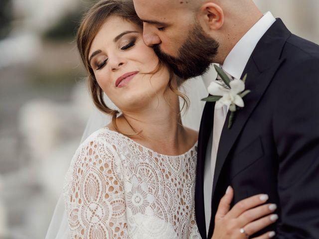 Le nozze di Fabiana e Giordano