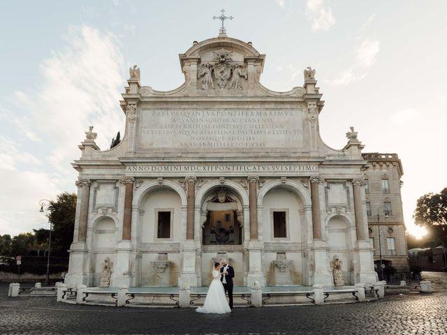 Il matrimonio di Giordano e Fabiana a Roma, Roma 1