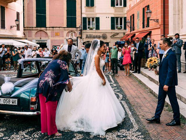 Il matrimonio di Samuele e Michela a Arenzano, Genova 39