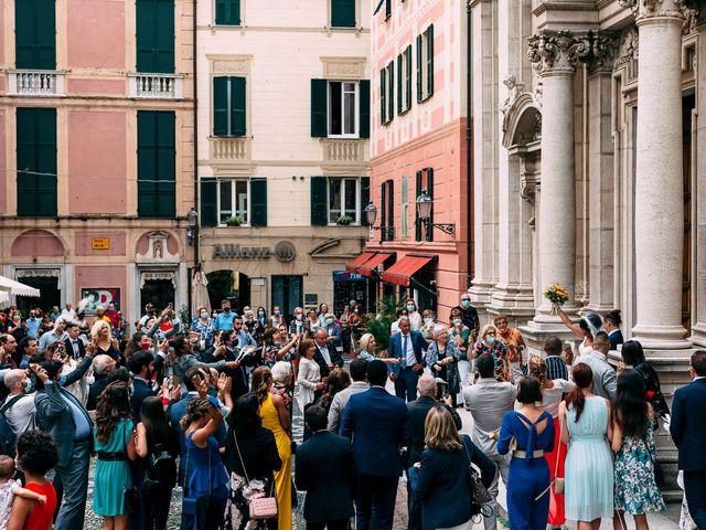 Il matrimonio di Samuele e Michela a Arenzano, Genova 48