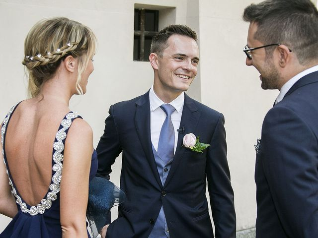 Il matrimonio di Andrea e Erika a Comignago, Novara 10
