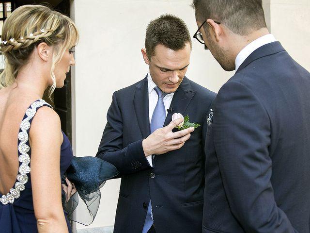 Il matrimonio di Andrea e Erika a Comignago, Novara 11