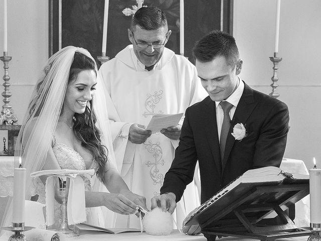 Il matrimonio di Andrea e Erika a Comignago, Novara 17