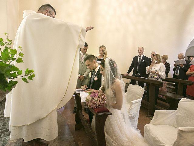 Il matrimonio di Andrea e Erika a Comignago, Novara 21