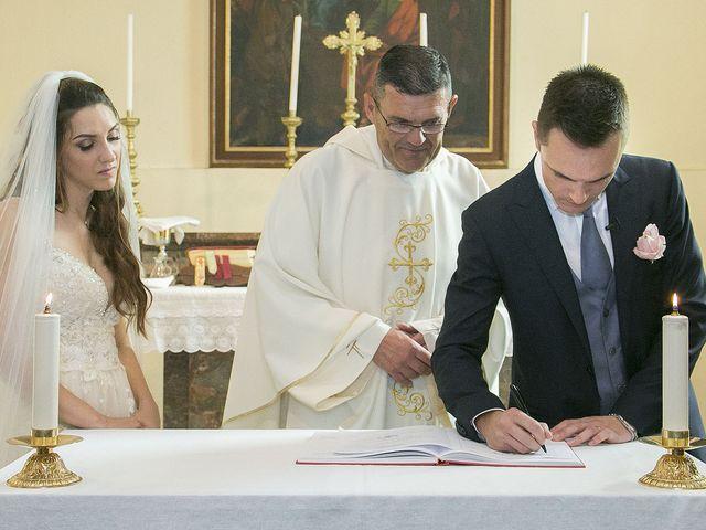 Il matrimonio di Andrea e Erika a Comignago, Novara 24