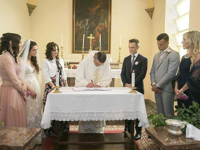 Il matrimonio di Andrea e Erika a Comignago, Novara 27