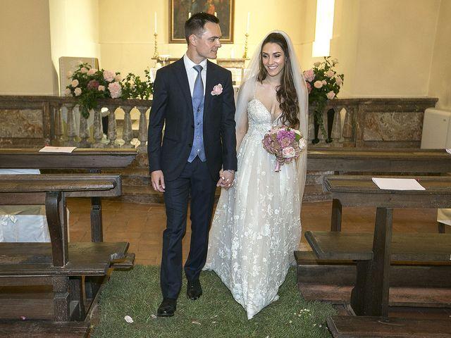 Il matrimonio di Andrea e Erika a Comignago, Novara 28