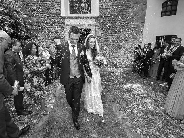 Il matrimonio di Andrea e Erika a Comignago, Novara 31