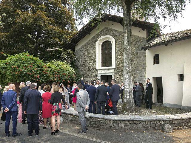 Il matrimonio di Andrea e Erika a Comignago, Novara 33
