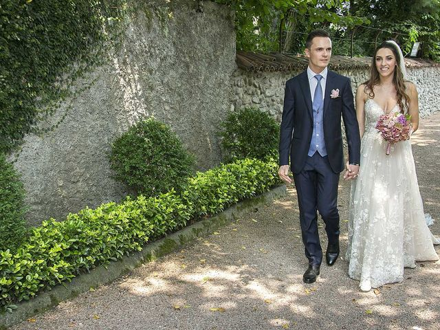 Il matrimonio di Andrea e Erika a Comignago, Novara 35