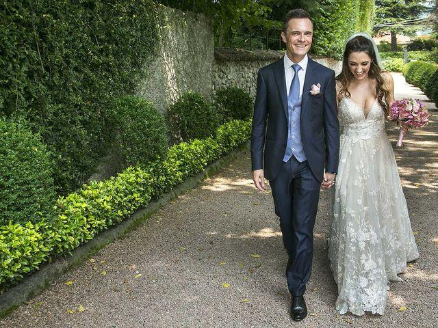 Il matrimonio di Andrea e Erika a Comignago, Novara 36