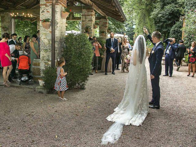 Il matrimonio di Andrea e Erika a Comignago, Novara 37