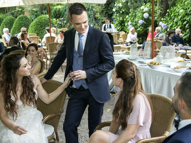 Il matrimonio di Andrea e Erika a Comignago, Novara 47