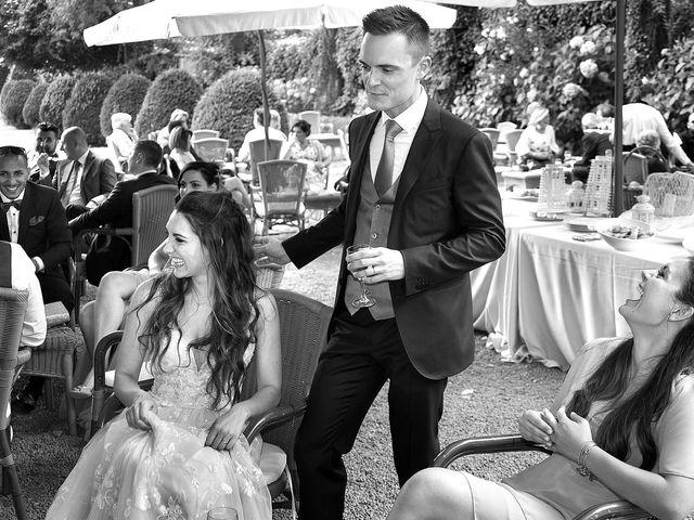 Il matrimonio di Andrea e Erika a Comignago, Novara 48