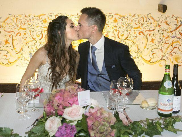 Il matrimonio di Andrea e Erika a Comignago, Novara 61