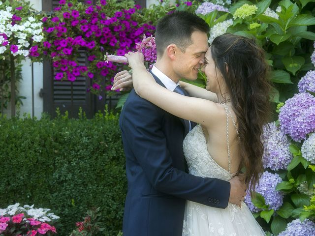 Il matrimonio di Andrea e Erika a Comignago, Novara 63