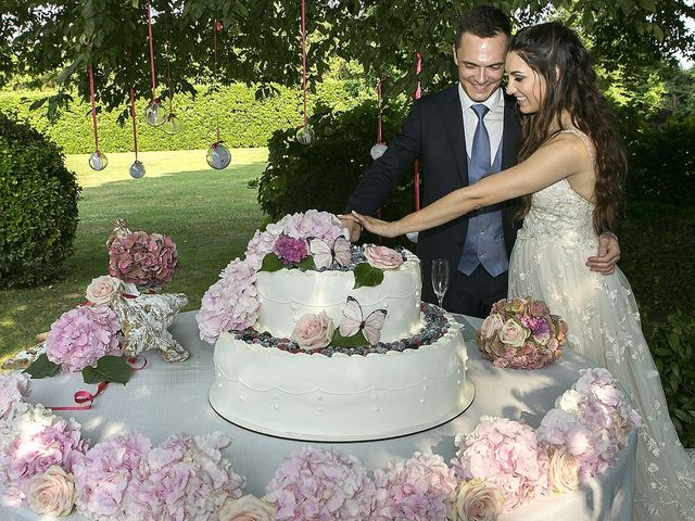 Il matrimonio di Andrea e Erika a Comignago, Novara 65