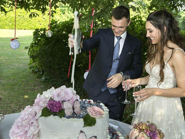 Il matrimonio di Andrea e Erika a Comignago, Novara 66