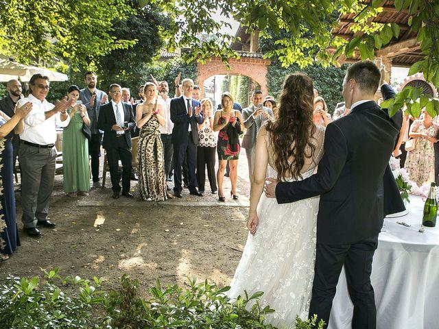 Il matrimonio di Andrea e Erika a Comignago, Novara 68