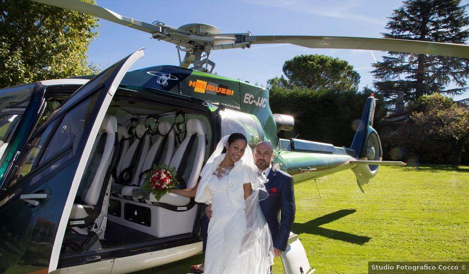 Il matrimonio di Marco e Samy a Barni, Como