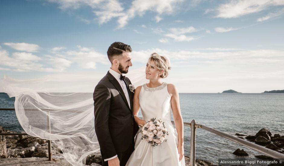 Il matrimonio di Stefano e Giulia a Sarzana, La Spezia