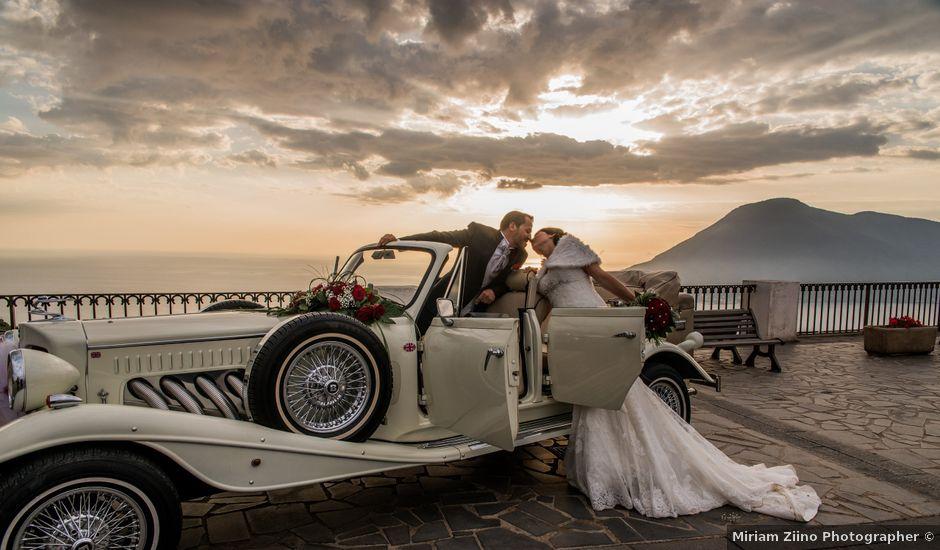 Il matrimonio di Nino e Lisa a Lipari, Messina