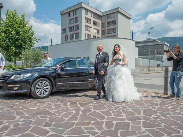 Il matrimonio di Nicola e Corinna a San Paolo, Brescia 45