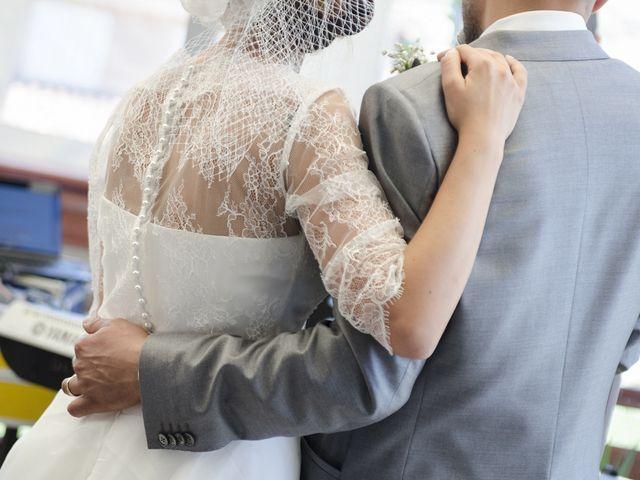 le nozze di Marco Rossi e Anna Rita Luchetti