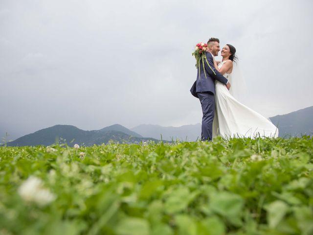 Il matrimonio di Mattia e Antonietta a Ceto, Brescia 12