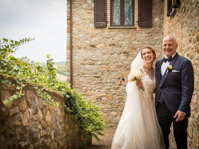 Il matrimonio di Marco e Sofia a Montegabbione, Terni 74