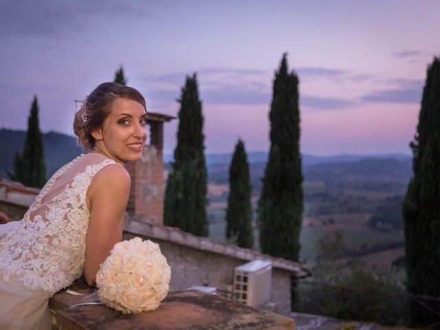 Il matrimonio di Marco e Sofia a Montegabbione, Terni 79
