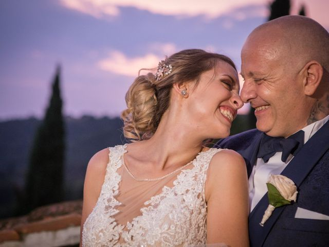 Il matrimonio di Marco e Sofia a Montegabbione, Terni 81
