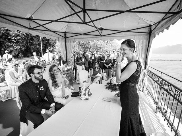 Il matrimonio di Marco e Valeria a Sarnico, Bergamo 23