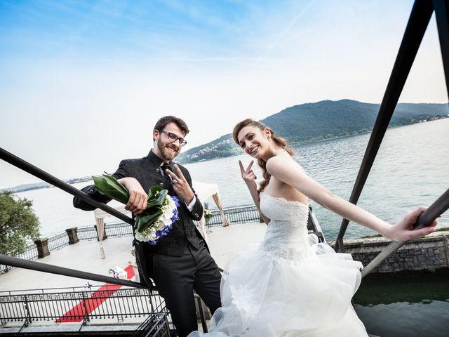 Il matrimonio di Marco e Valeria a Sarnico, Bergamo 48