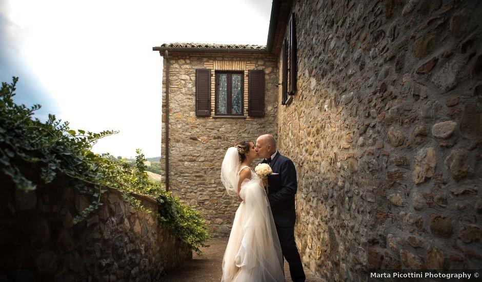 Il matrimonio di Marco e Sofia a Montegabbione, Terni
