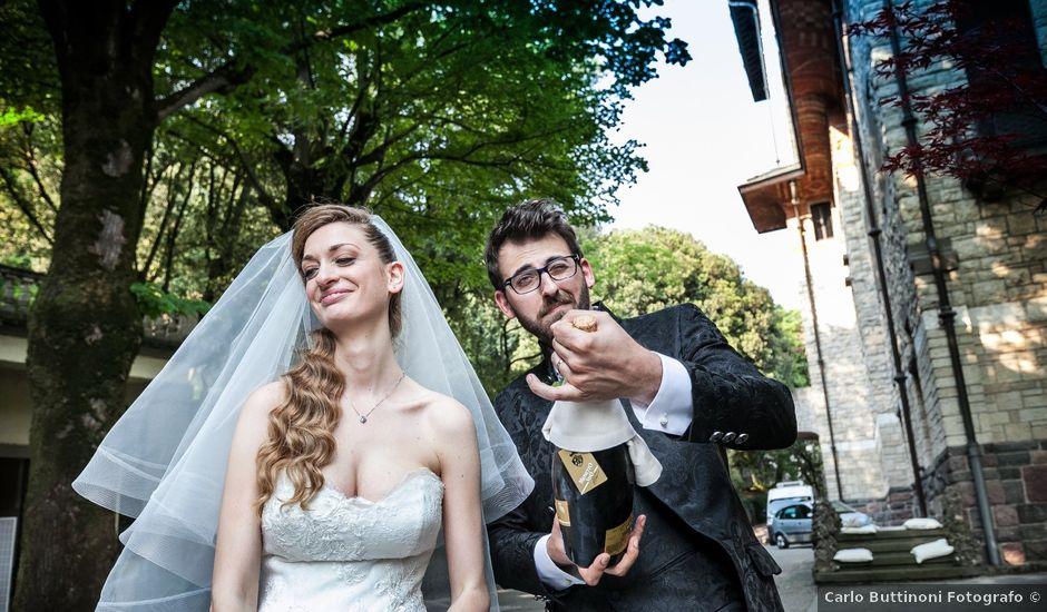 Il matrimonio di Marco e Valeria a Sarnico, Bergamo