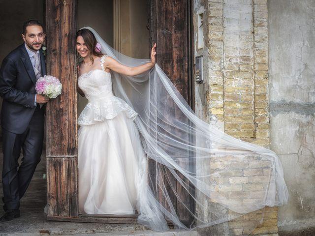 le nozze di Raffaella e Fabio