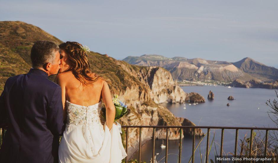 Il matrimonio di Stefano e Irene a Lipari, Messina
