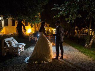 Le nozze di Lara e Andrea