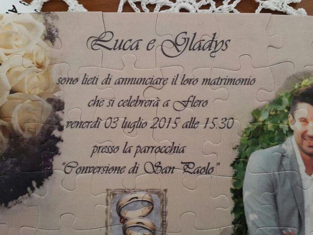 Il matrimonio di Gladys e Luca a Flero, Brescia 1
