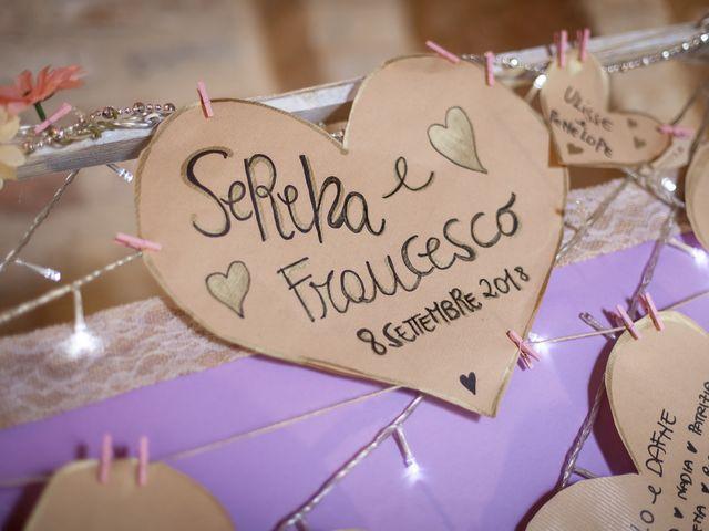 Il matrimonio di Francesco e Serena a Orsogna, Chieti 1