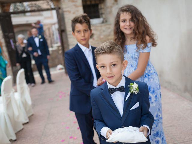 Il matrimonio di Francesco e Serena a Orsogna, Chieti 14